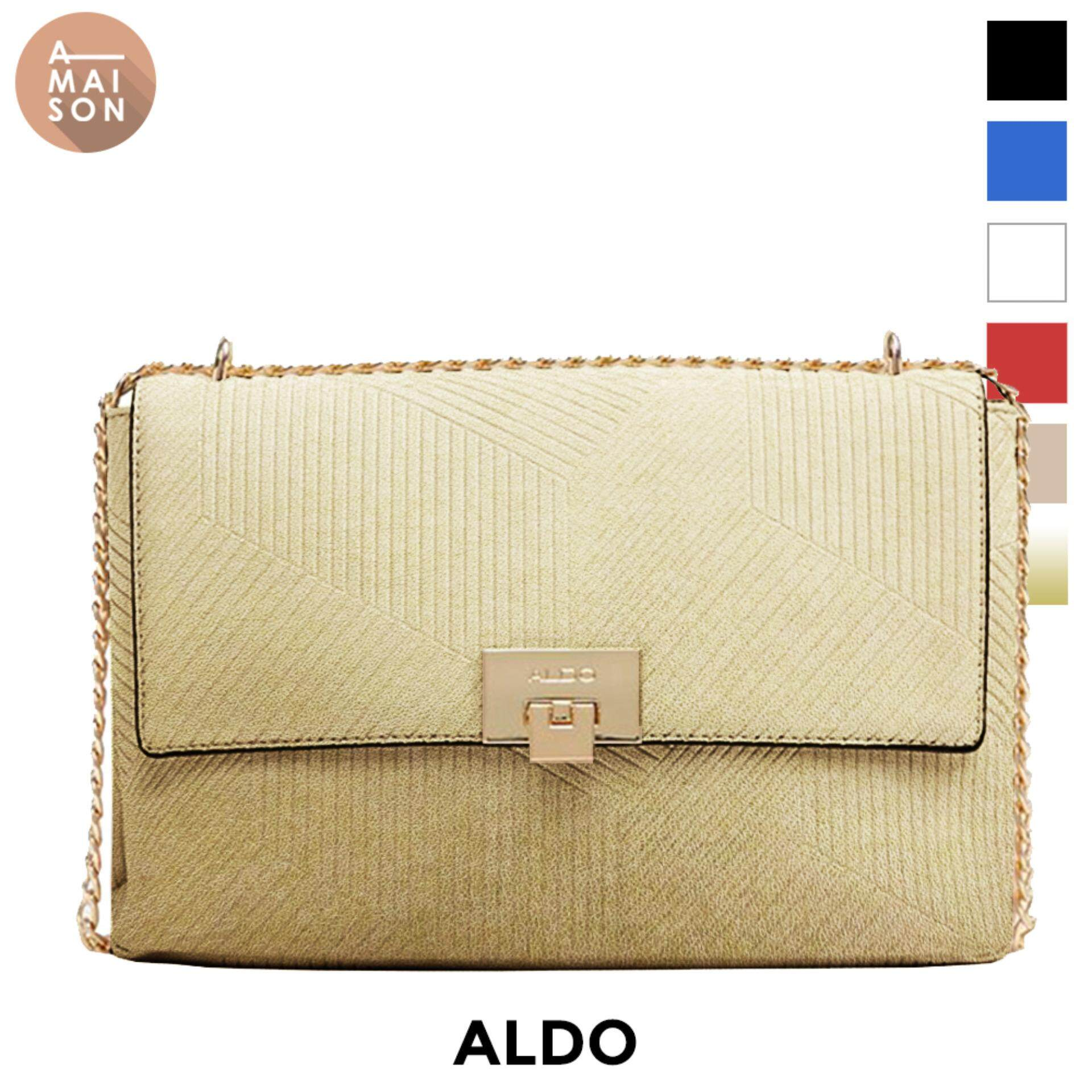 1b2daad6f77 Authentic Aldo Fair Textured Elegant Keylock Closure Evening Crossbody  Messenger Sling Shoulder Bag Handbag