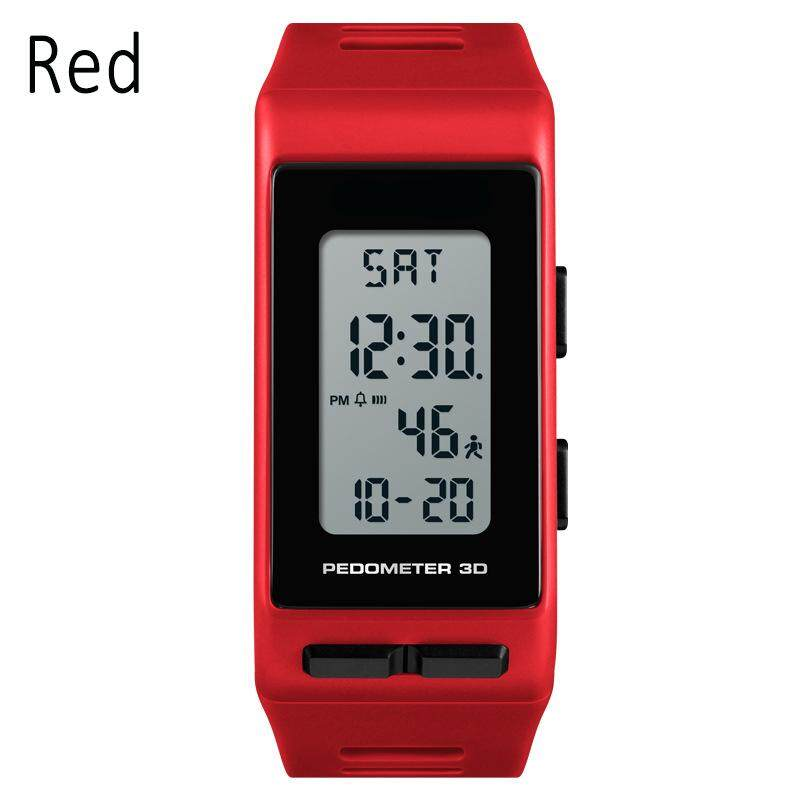 YBC Men Digital Watch Rectangle 3D Pedometer Calories Alarm Waterproof Sport Watches Malaysia