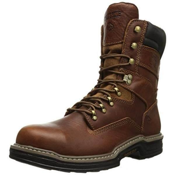 Wolverine Mens W02423 Raider Boot, Brown, US