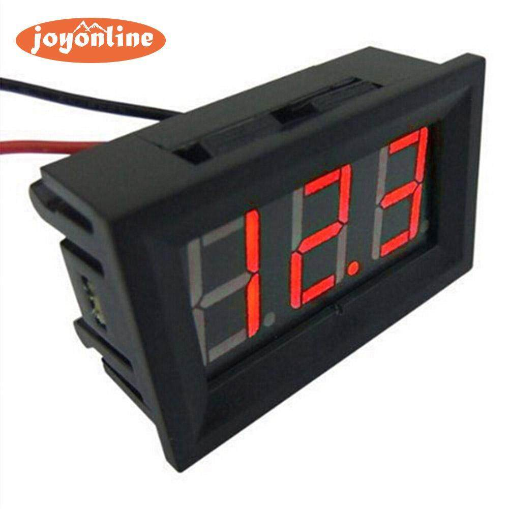 Gauges Buy At Best Price In Malaysia The Power Trim Wiring For Firecat Restoration And Tachometer Wires Mini 036in Dc 24v 30v 2 Wire Led Digital Display Panel Battery