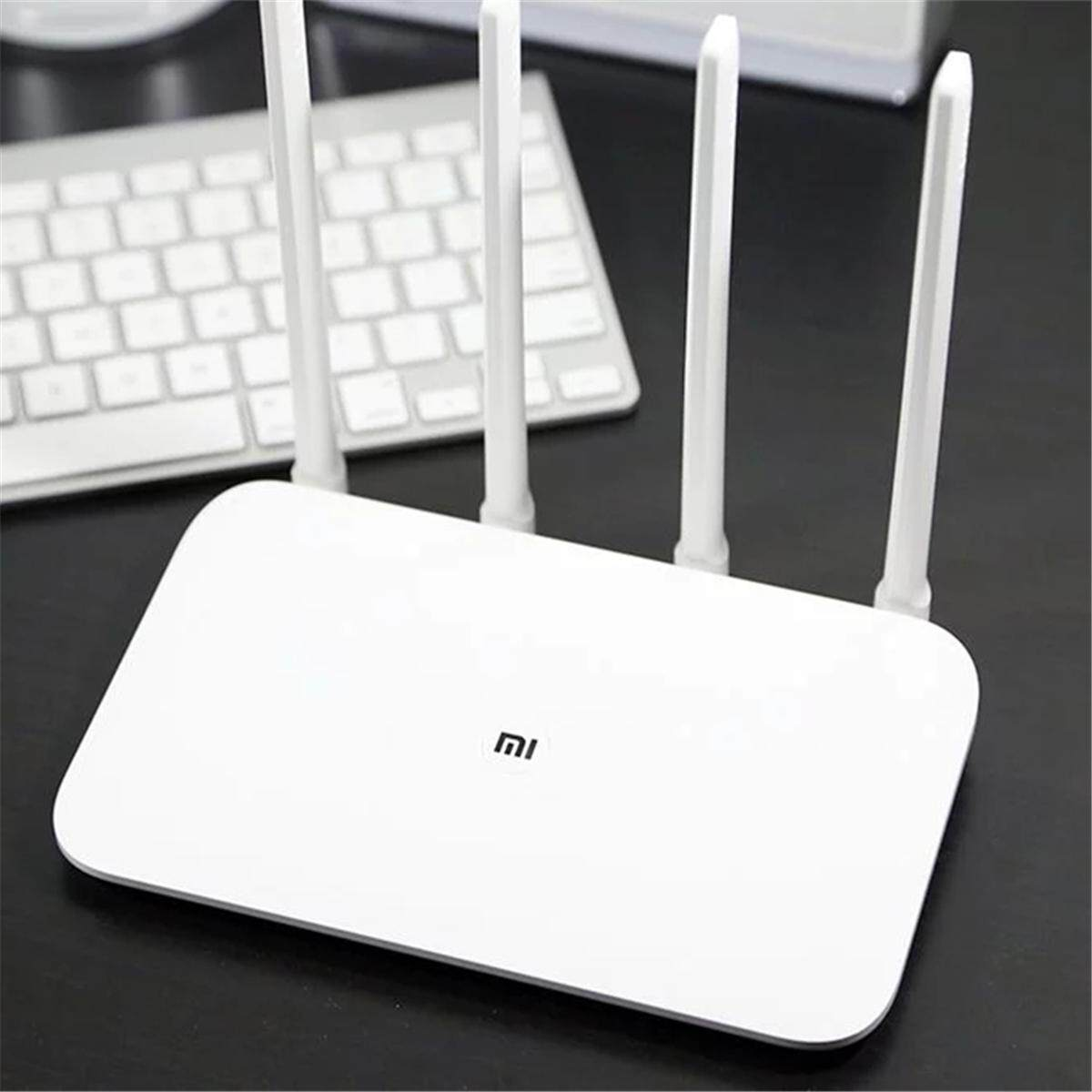 Xiaomi Routers Price In Malaysia Best Lazada Wifi Extender Repeater Original 100 1167mbps Smart 4 Antennas Gigabit Ethernet Dual Band Wireless Router