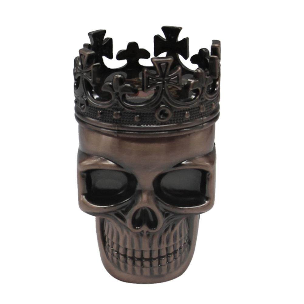 Cool King Skull Tobacco Herb Spice Grinder Crushe By Newlifestyle.
