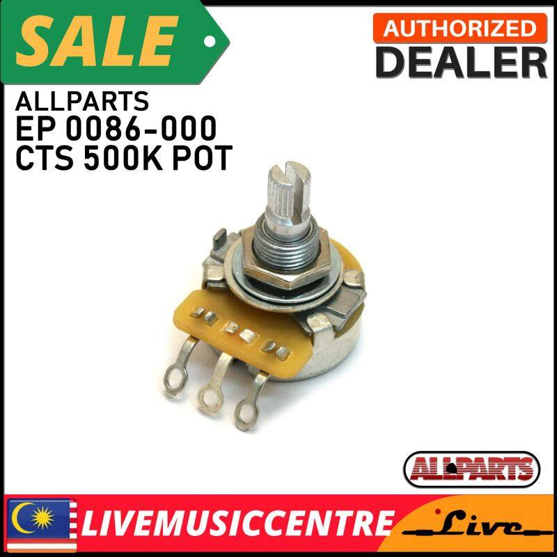 Allparts EP-0086-000 CTS 500K Split Shaft Audio Pot Malaysia