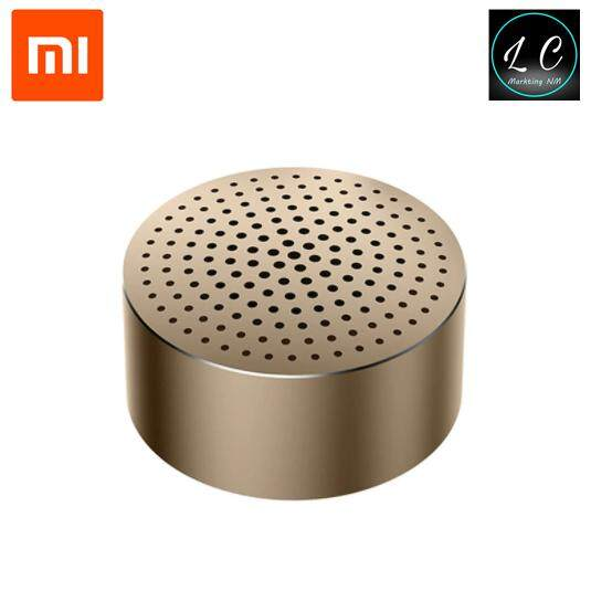 Xiaomi Original Mi Portable Bluetooth 4.0 Mini Subwoofer Speaker (Gold)