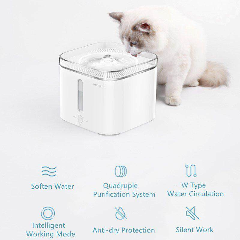 Petkit Cat Dog Pet Health Intelligent Water Drinking Filter Fountain Drinker By Mkstudio.