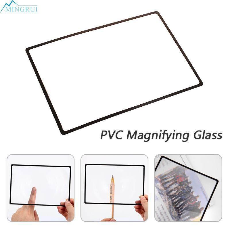 Mingrui Store PVC Transparent Glass Lens Magnifying Glass Magnifying Lens