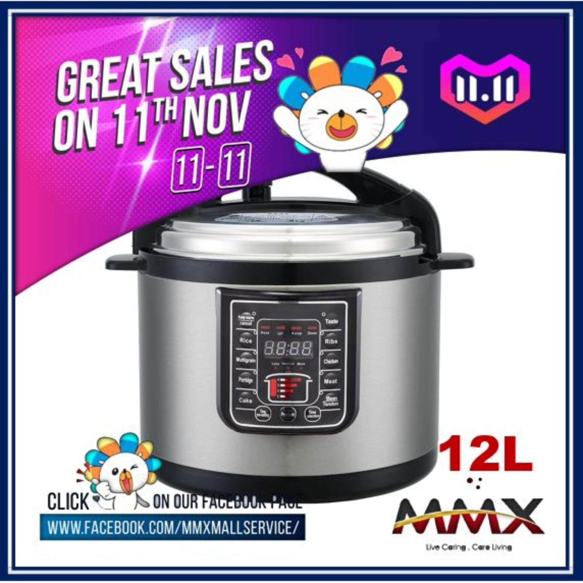 Electric Pressure Cookers Buy At Best Signora Wonder Cooker Mmx Ewant 12l Multi Functional Silver Ybd12 160 8