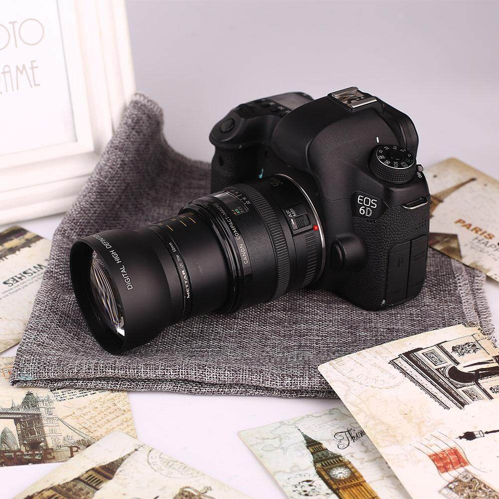 52mm 0.45x Wide Angle Lens +macro +lens Bag For Nikon D5000 D5100 D3100 Camera By Mayler Store.