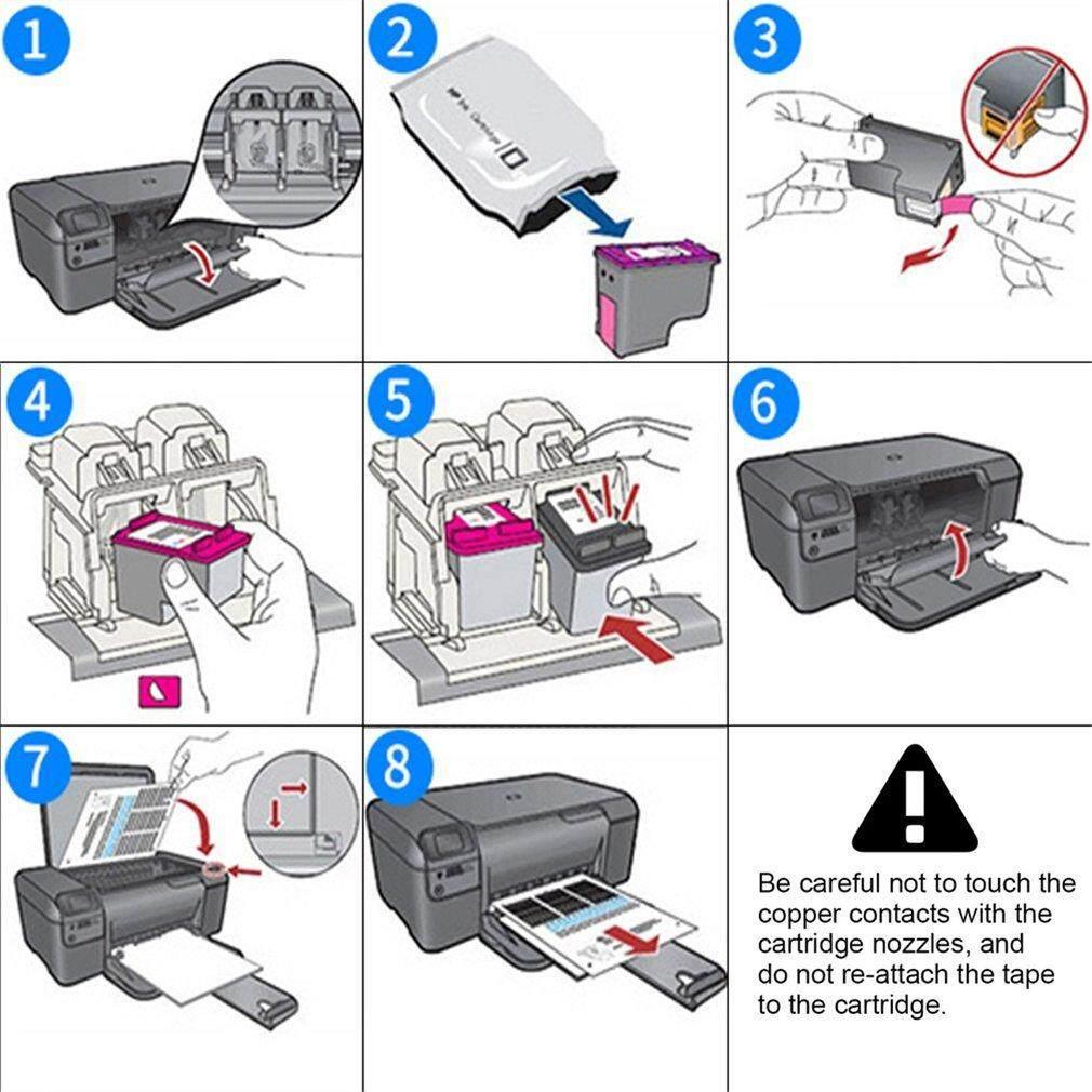 Best Sellers 3pcs Ink Cartridge for HP 61 61XL Officejet 4630 2620 Deskjet  1000 2000 3000
