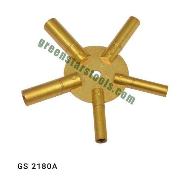 INDIA Master Key For Clock winding GS2179-GS2180 (watch repair tool)