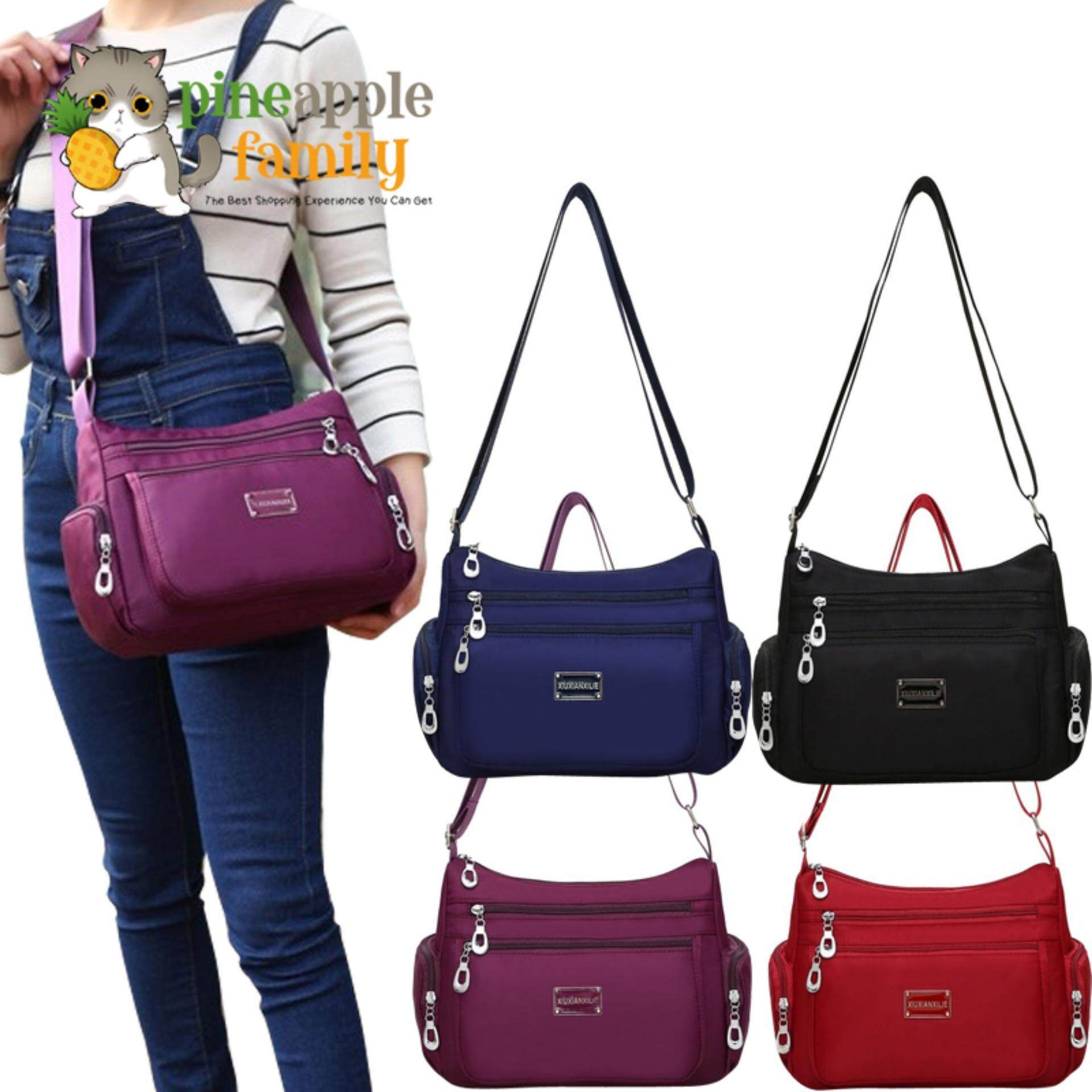 c4147788f271 Ana Maria Women Crossbody Waterproof Nylon Messenger Shoulder Bags
