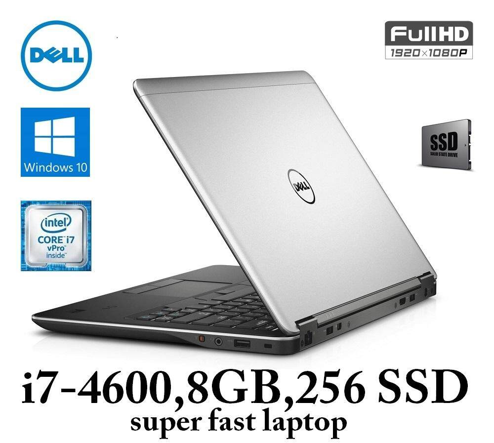 Dell Latitude e7440 Ultrabook / Intel Core i7-4th Gen / 8GB DDR3L Ram / 256GB-SSD Malaysia