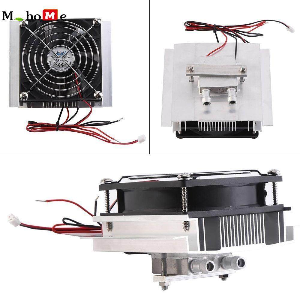 M_home 12V/72W Semiconductor Refrigeration Cooler Fan Thermoelectric Peltier Water Cooling Device Malaysia