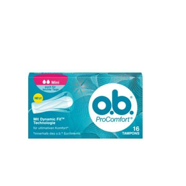 O.b. Procomfort Mini Tampons (16s) By Vitamart Official Store.