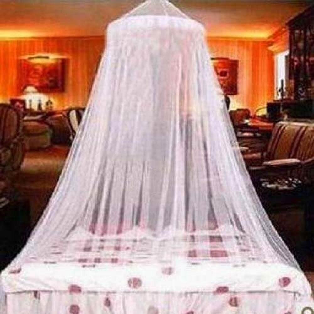Oem Elegant Mosquito Net For Double Bed Canopy Insect Reject Net Circular Canopy Bed Curtains Mosquito Repellent Tent White House By Kacoo.