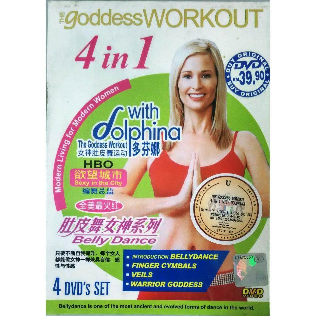 The Goddess Workout With Dolphina Dvd Belly Dance Finger Cymbals Veils Warrior Goddess By Discplayer.