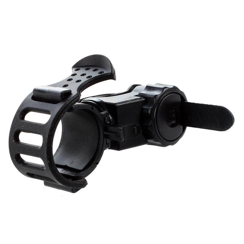 Support Flashlight Lamp Light Flashlight Holder Color Black Bike Handlebar By Yomichew.