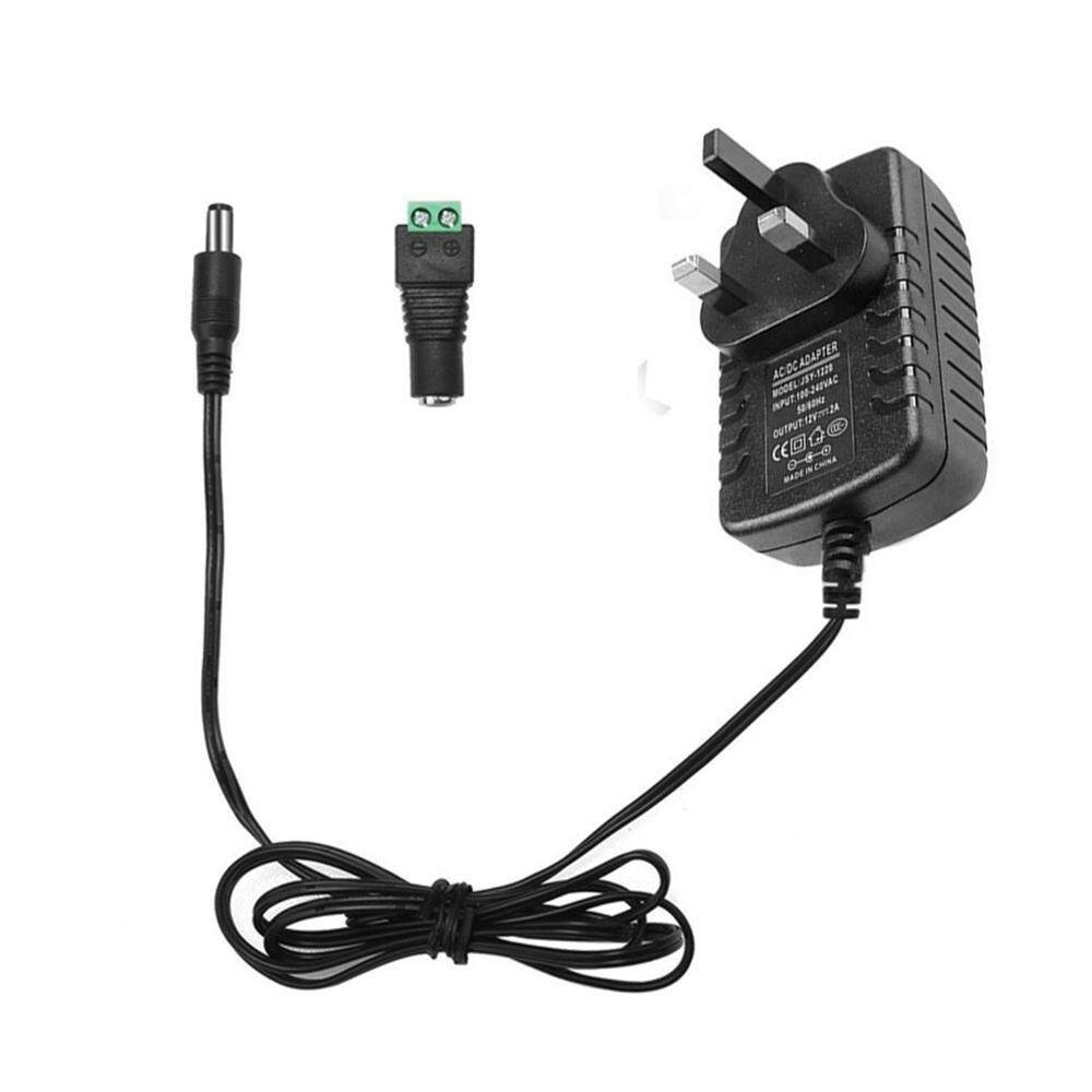 [FREE SHIPPING]Pawaca DC 12V 2A Power Supply Adapter AC 100-240V To DC 12V  Transformers, Switching Power Supply For 3528/5050 LED Strip Lights