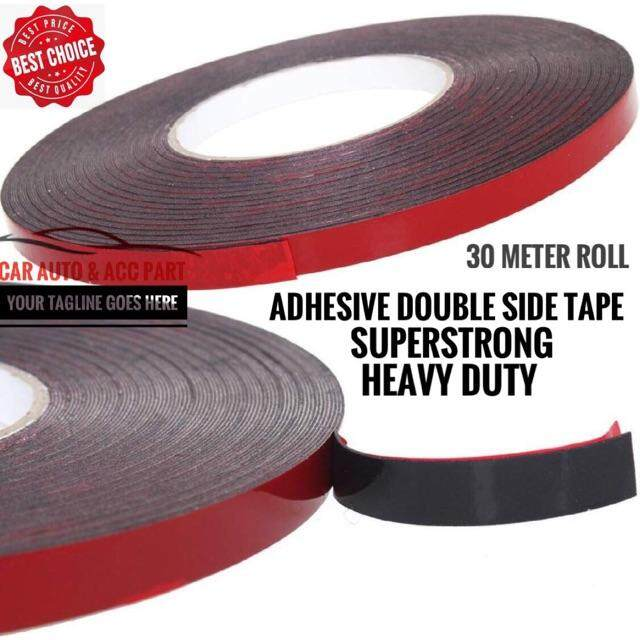 Adhesive Sticker Double Sided Tape Super Strong Car Home Phone Digitizer Repair 3M 10mmx30m