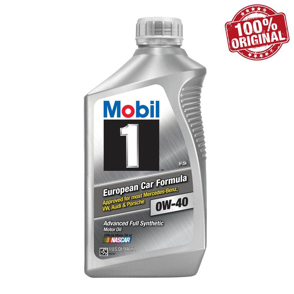 MOBIL 1 Advanced 0W40 SN Fully Synthetic Engine Oil 946ml (USA)