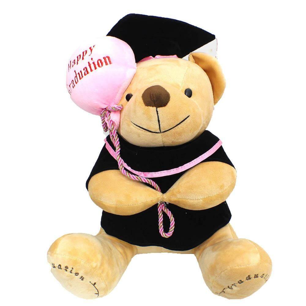 Sunbear Stuffed Animal, Sun Bear Gift Graduation Bear Soft Toy 30cm Toys For Girls Lazada
