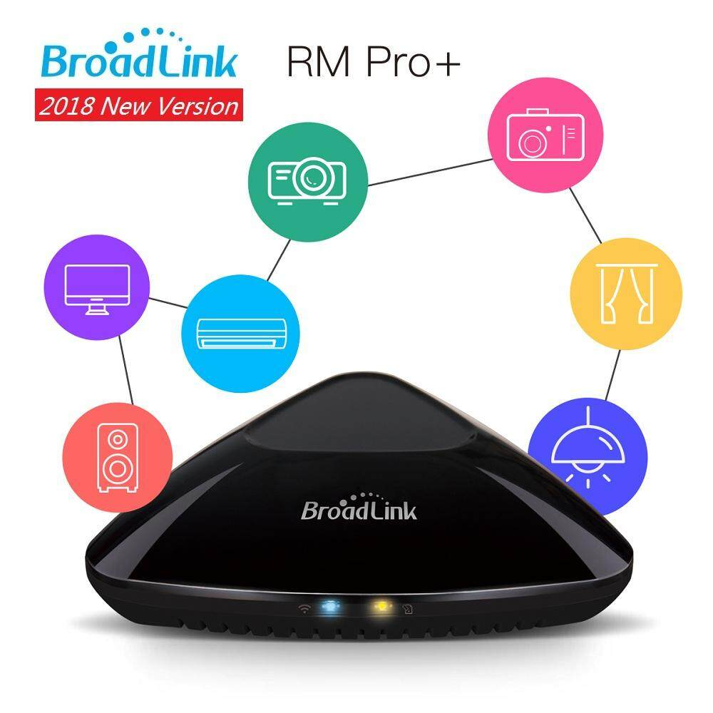 New Version Broadlink Rm Pro+ Smart Home Automation Intelligent Universal Wifi+ir+rf Switch Remote Controller Jz006hq By Ckeyin Store.