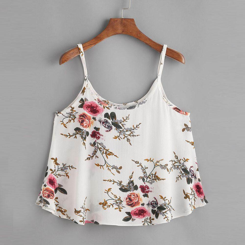 Buy Women Blouses Online At Best Price In Malaysia Lazada Blouse Off Shoulder Wanita Charming Pink Fuchsia L Carolane Casual Sleeveless Floral Crop Top Vest Tank Shirt Cami