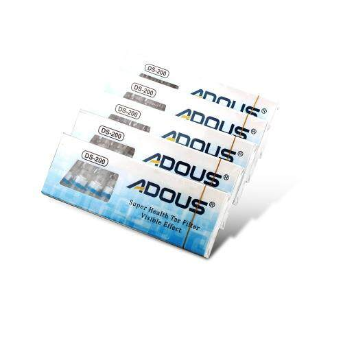 50Pcs ADUOS Disposable Cleaning Reduce Tar Smoke Tobacco Filter Cigarette Hold