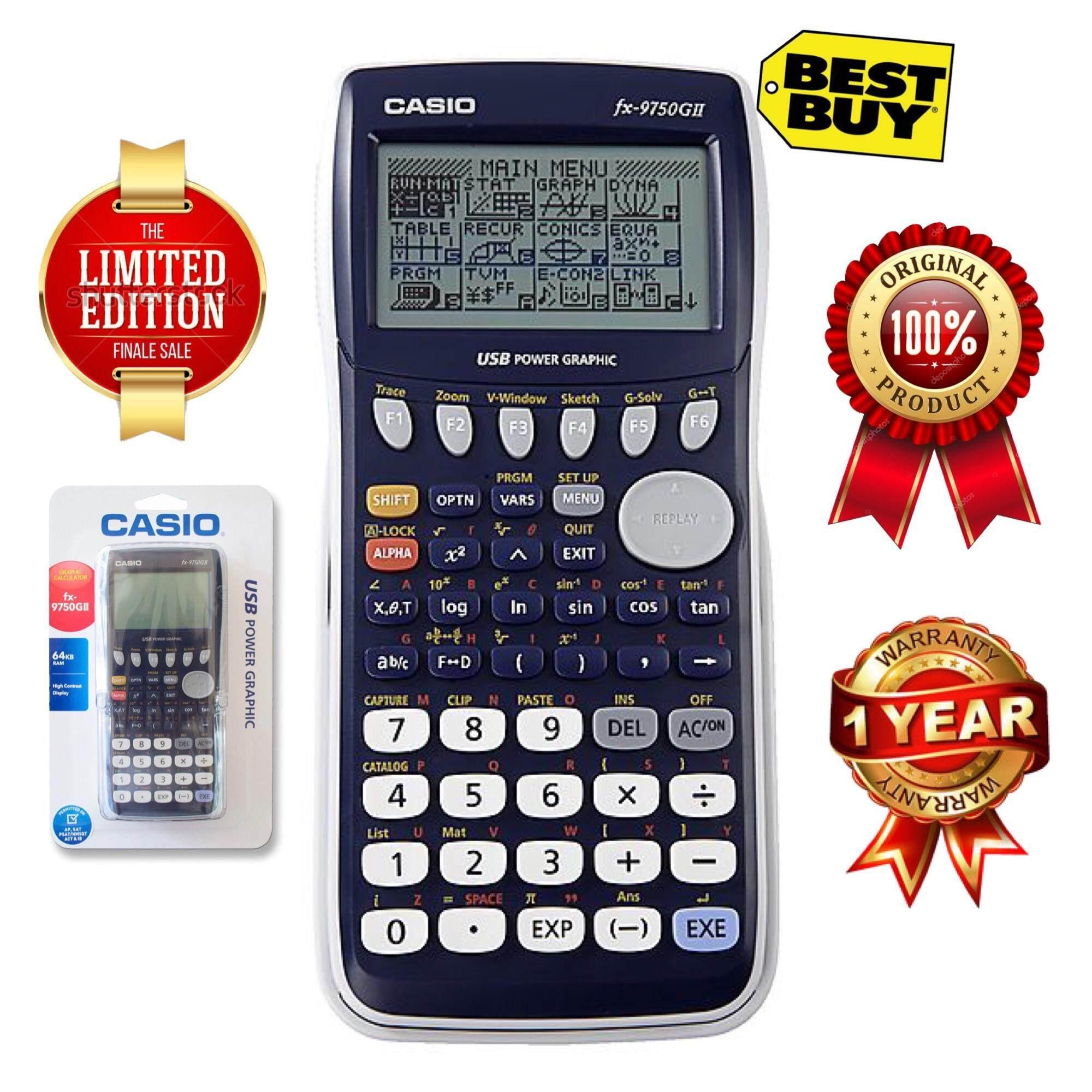 Casio Calculators For The Best Prices In Malaysia Scientific Calculator Fx 570es Plus Graphics 9750gii