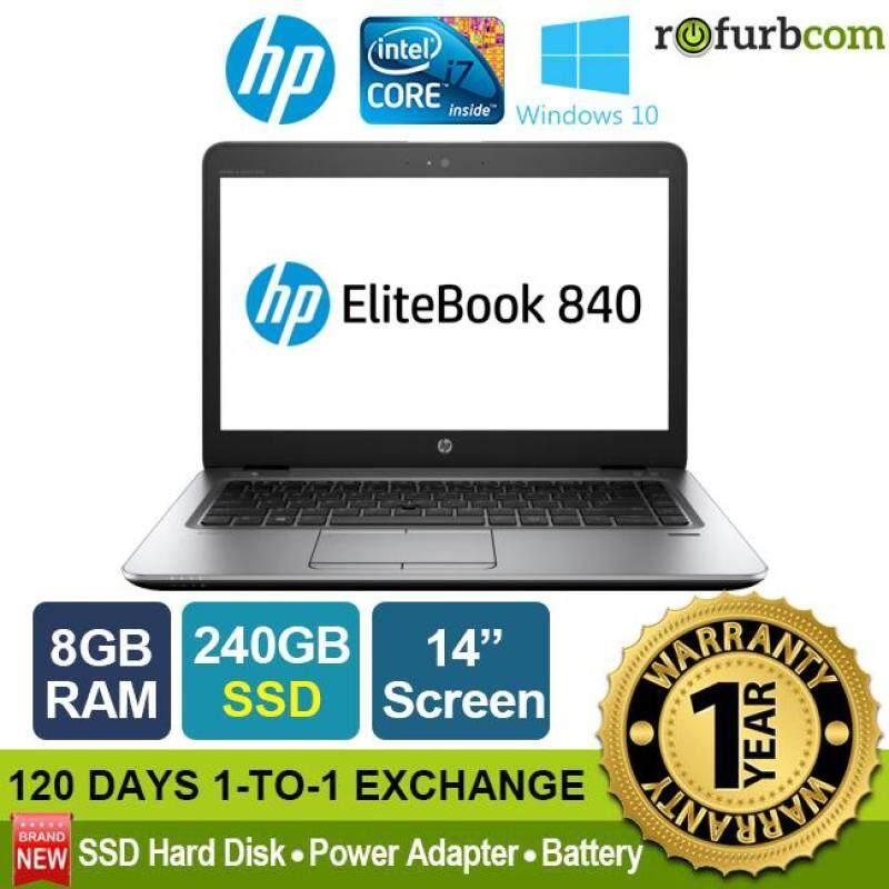 HP ELITEBOOK 840 G3 / INTEL CORE I7 (8GB, 240 SSD)[refurbished] Malaysia