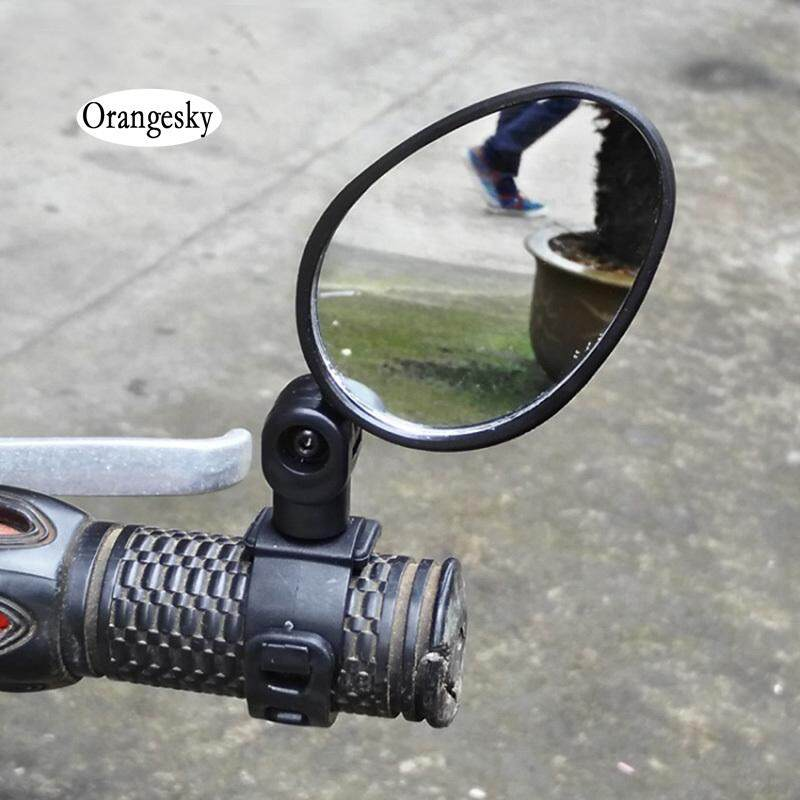 Orangesky Universal Handlebar Rearview Mirror 360 Degree Rotate Bike Mtb Cycling By Orangesky.