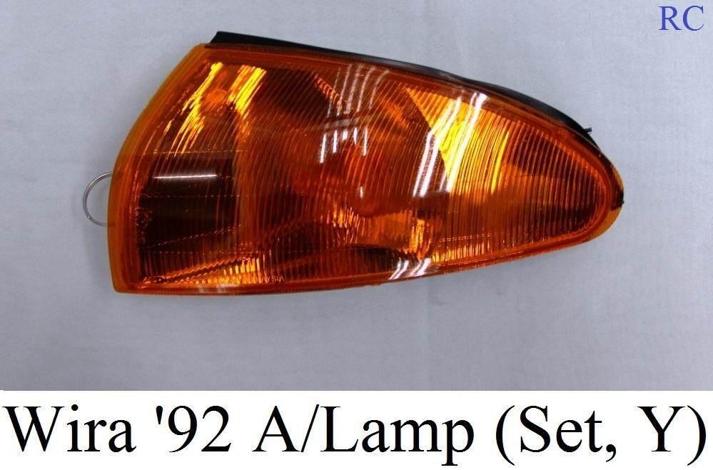 signal angle lamp wira satria yellow 2pcs