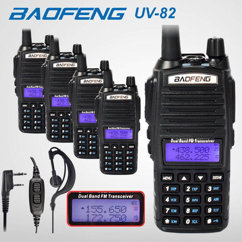 Baofeng Buy At Best Price In Malaysia Ht Uv5r Handy Talkie Walkie Bf Dual Band 5 X Uv82 5w Vhf Uhf Uv 82 Portable Talkies 2800mah