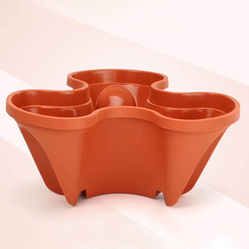 Stack-up Type Stereoscopic Flowerpot Strawberry Plant Pot for Flower Vegetables Decoration