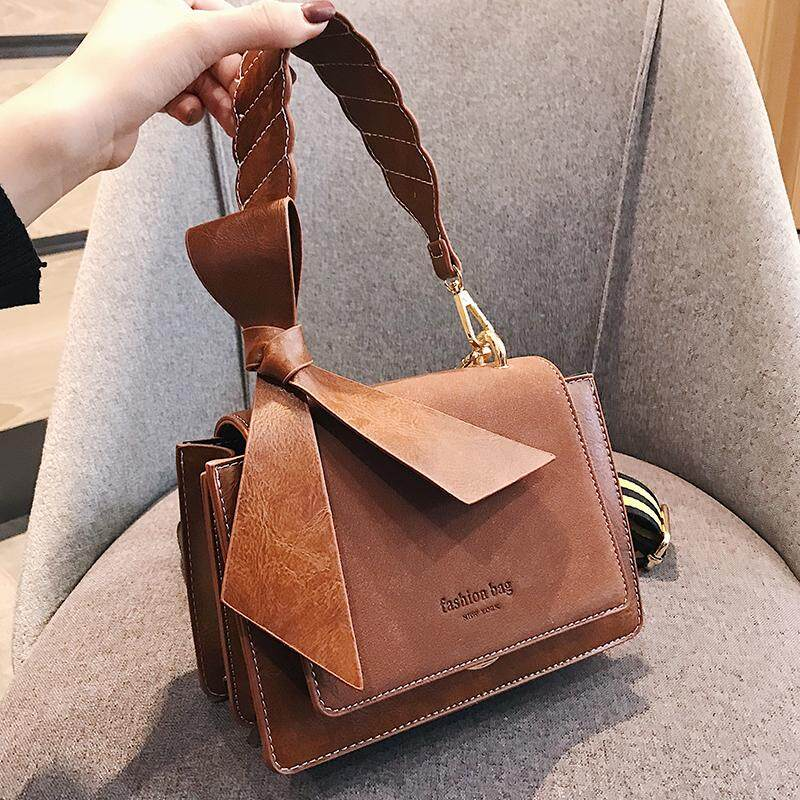 2619c5e24 Autumn and winter Scrub bag female 2018 new wave Korean version of the wild  single shoulder