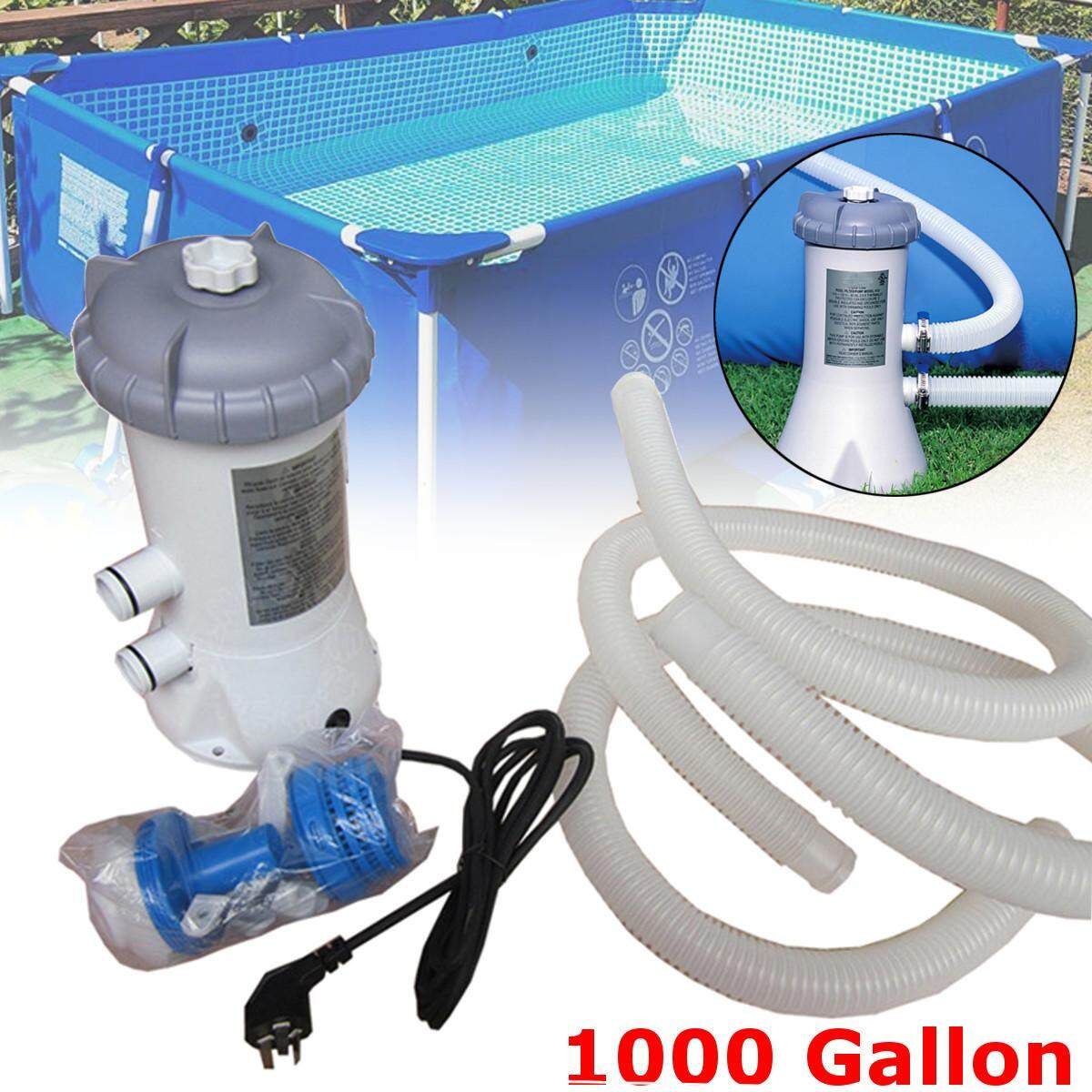 1000gal 220v Filter Pump Tools For Intex Swimming Pool Fast Ground Steel Frame By Teamwin.