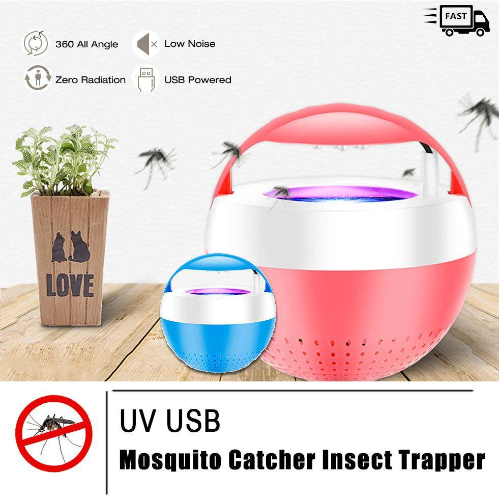 UV USB Mosquito Catcher Insect Trapper - Environment Friendly Pest Catcher