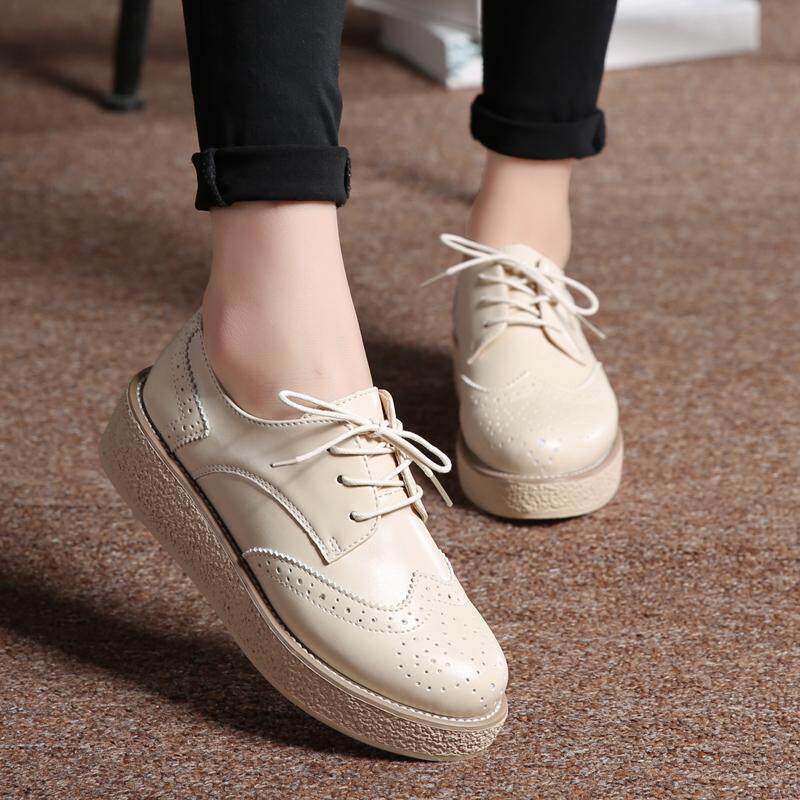 Fashion ankle martin boots for women leather shoes for women flat shoes casual mother shoes work