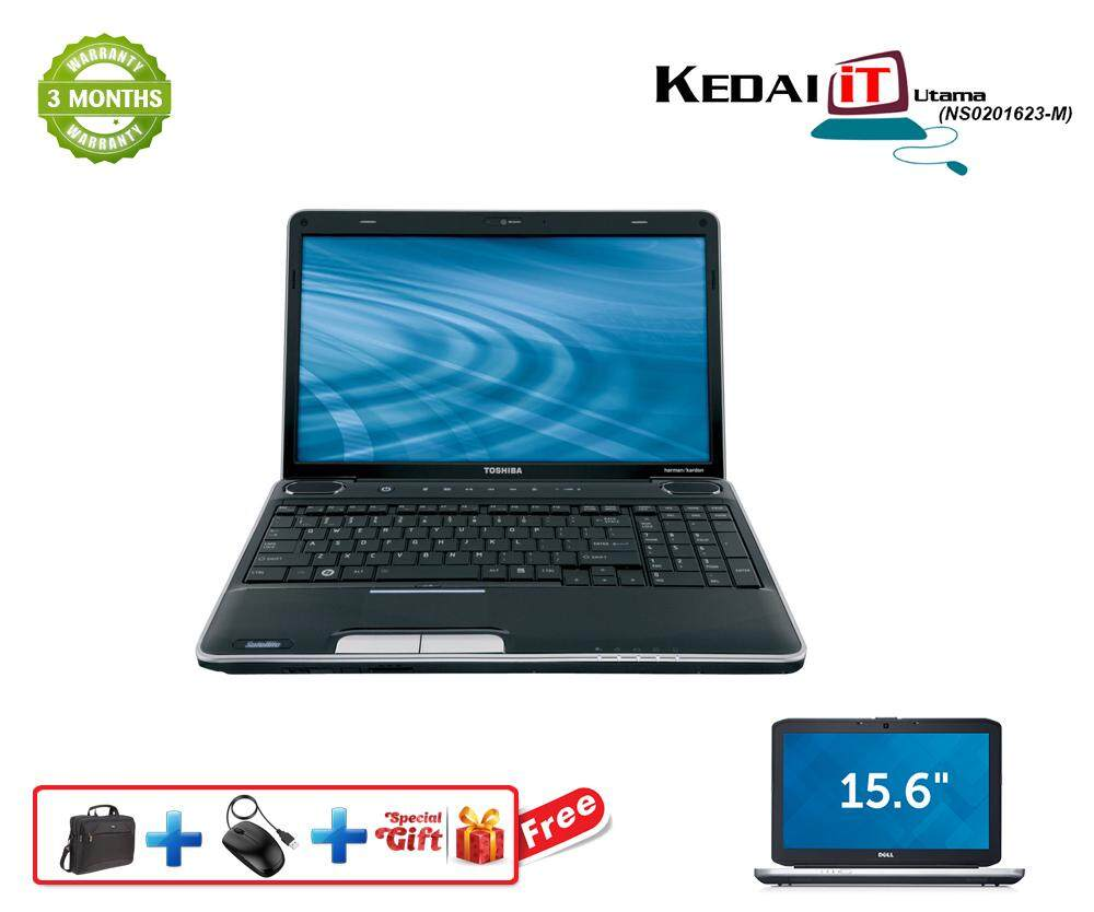 Toshiba Laptop i3 4GB RAM Dvd 250GB HDD 15.6 Screen (Recon) Malaysia