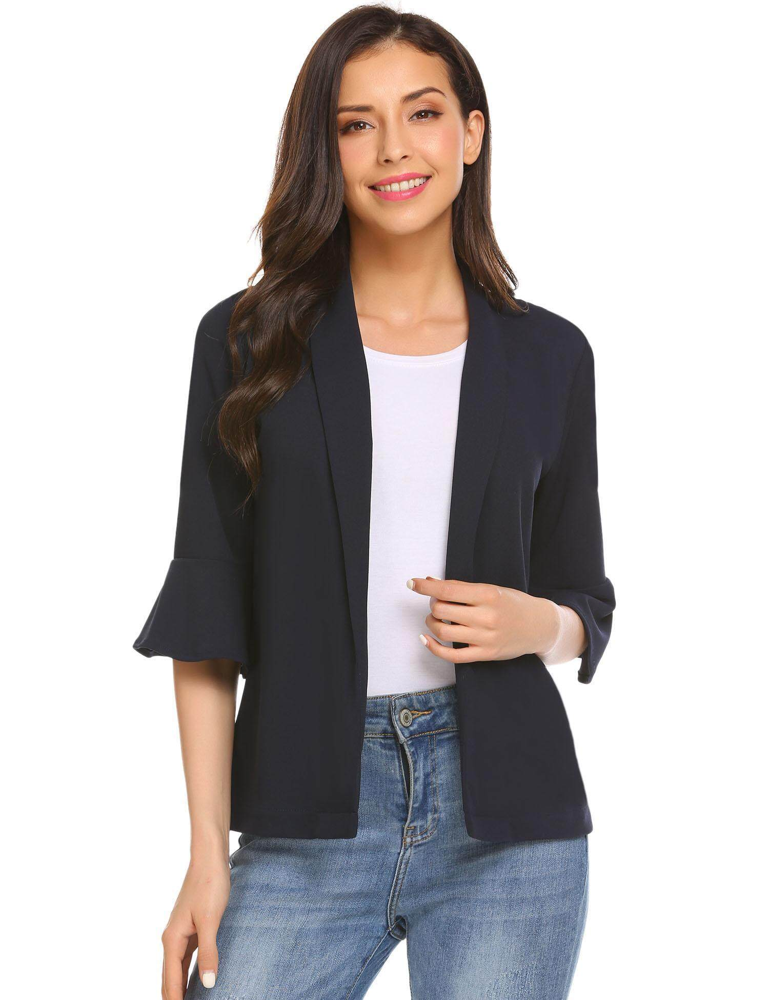 Buy Jackets Coats At Best Prices Online In Malaysia Tendencies Short Shirt Feather Print Black Hitam L