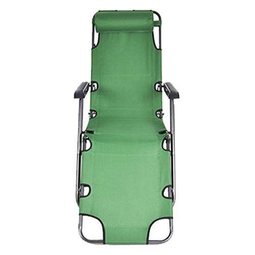 Chairs Case Of Reclining Lounge Patio Chairs Outdoor Yard Beach & Lcolors: Green Sizes:60 Inch By Xhkjin.