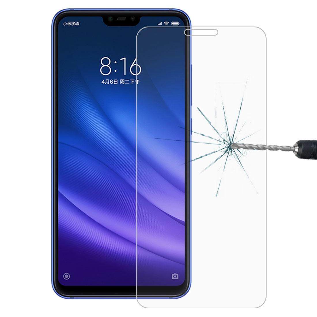 0.26mm 9H Surface Hardness 2.5D Full Screen Tempered Glass Film for Xiaomi Mi 8