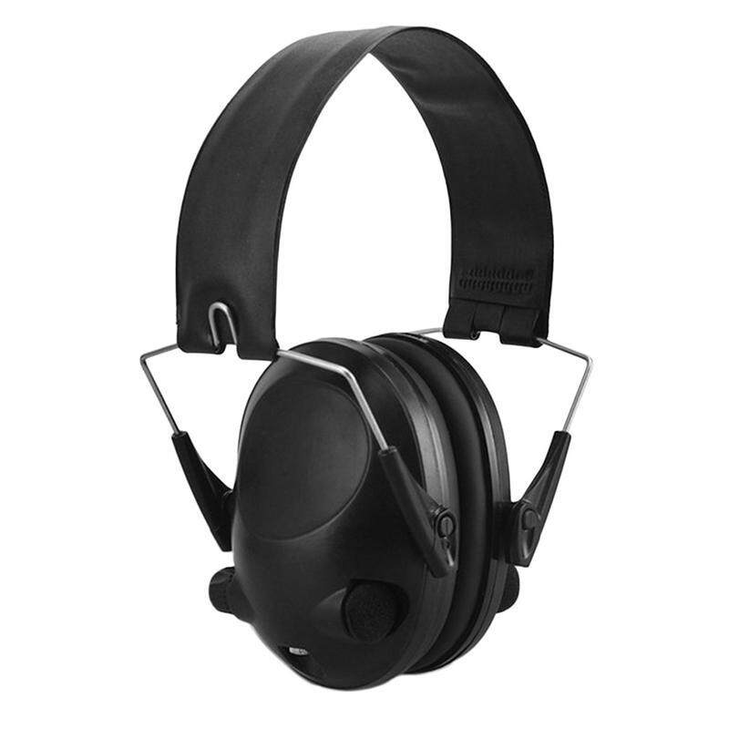 Deyln 2018 New Anti-noise Black Earmuffs Tactical Outdoor Hunting Shooting Hearing Protection Ear Protector Soundproof Ear Muff