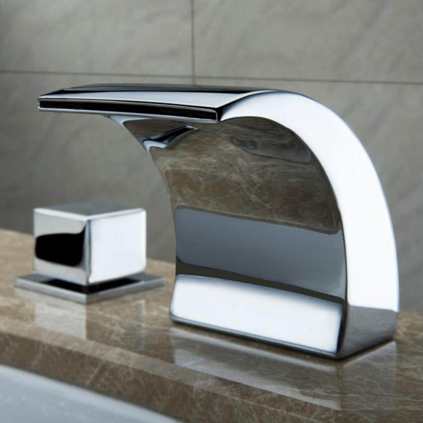 Tap Bathroom,Waterfall Faucet,bath Room Faucet,LED Light Faucet