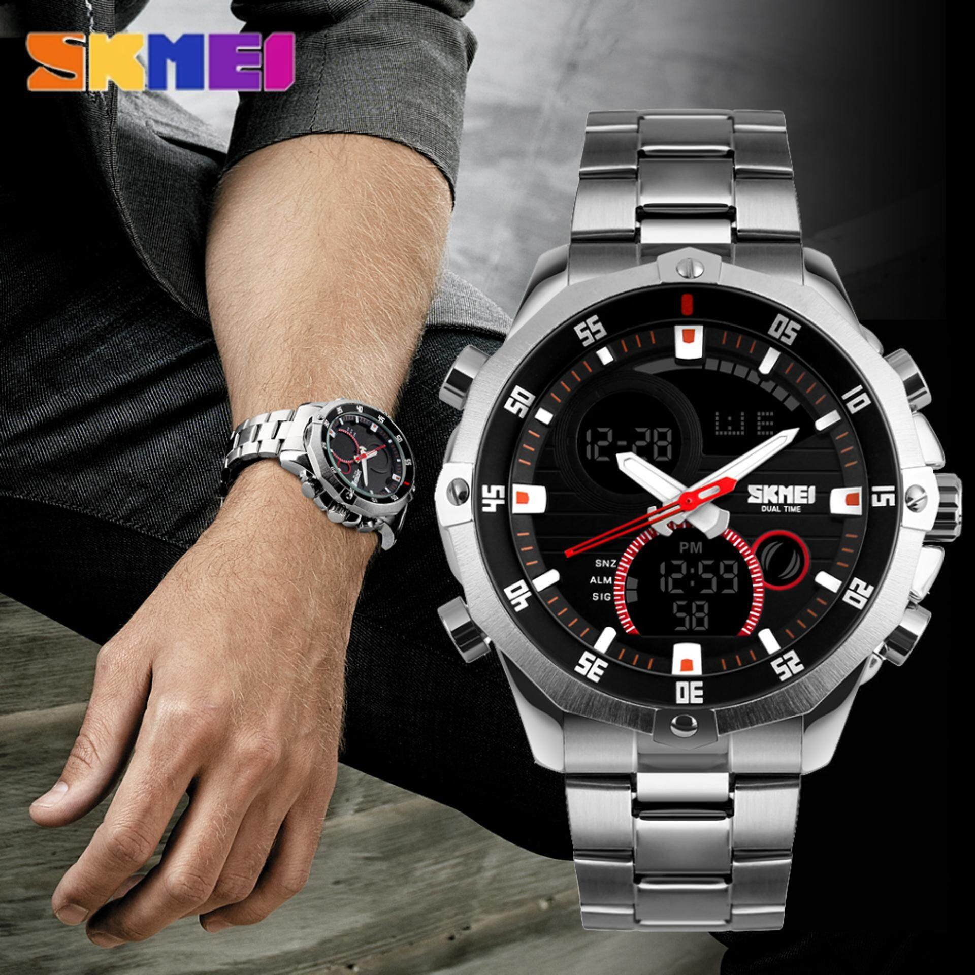 brand mens calender classic top watches business pin week luxury men steel fedylon quartz stainless watch