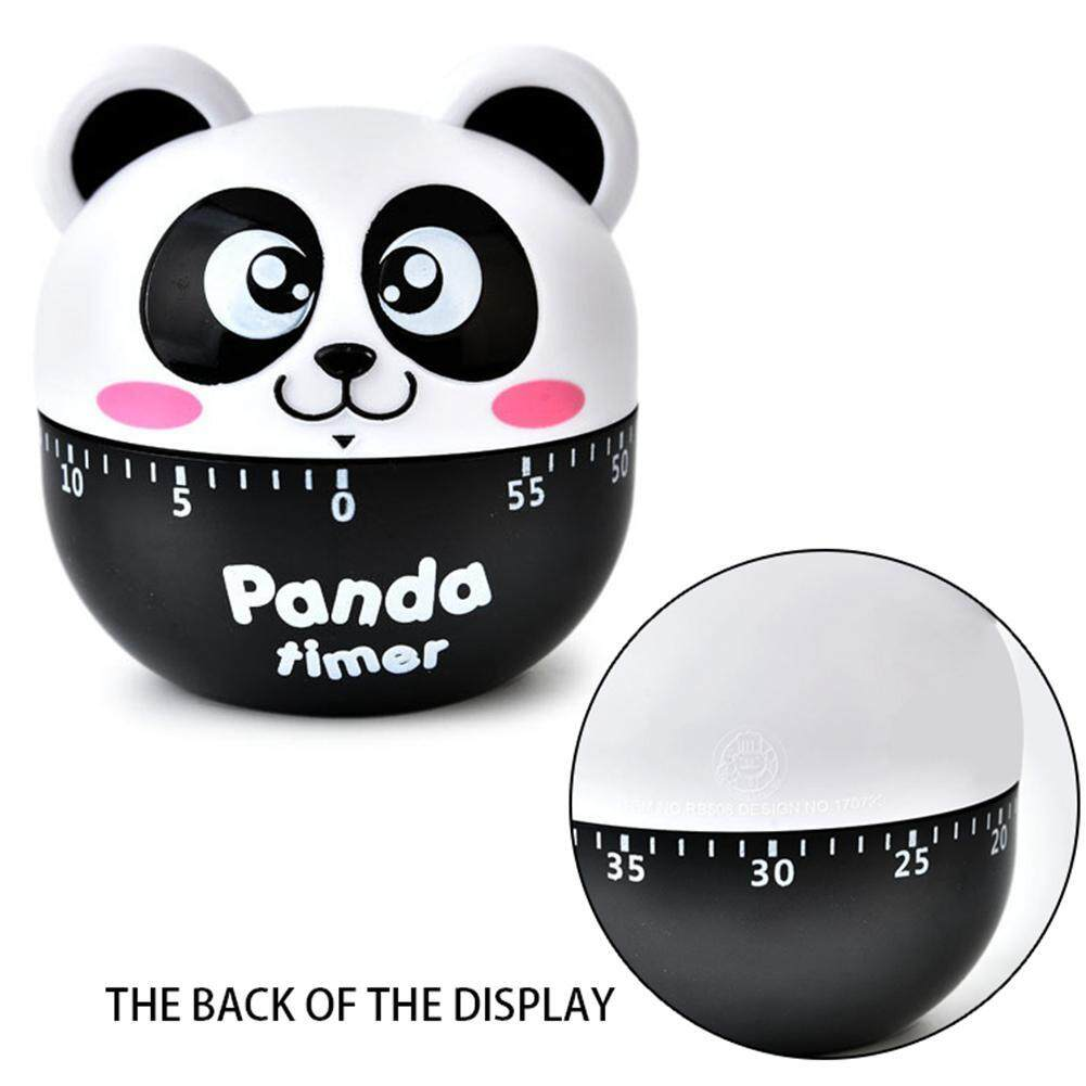 Cute Animal Egg Timer,60 Minutes Mechancial Rotating Banking Cooking Timer  For Kitchen Exercise Study