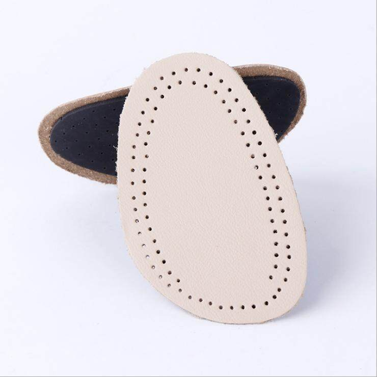 5 Double Cowhide Half Code Pad Female Male before Sole Pad Soft Anti-Pain Pad Hidden High-heeled Shoe Insoles Thick Anti-slip Semi-Mat