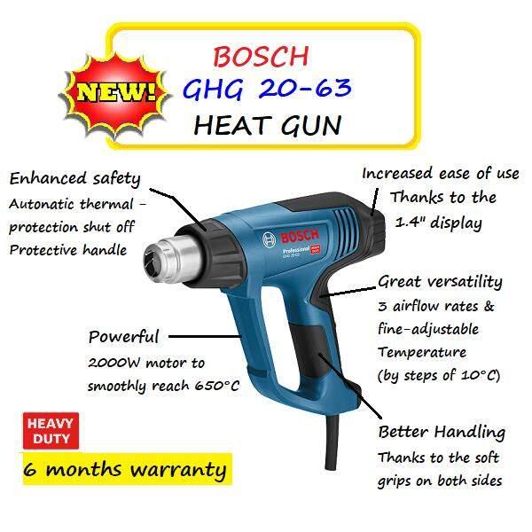 BOSCH GHG20-63 KIT HEAT GUN