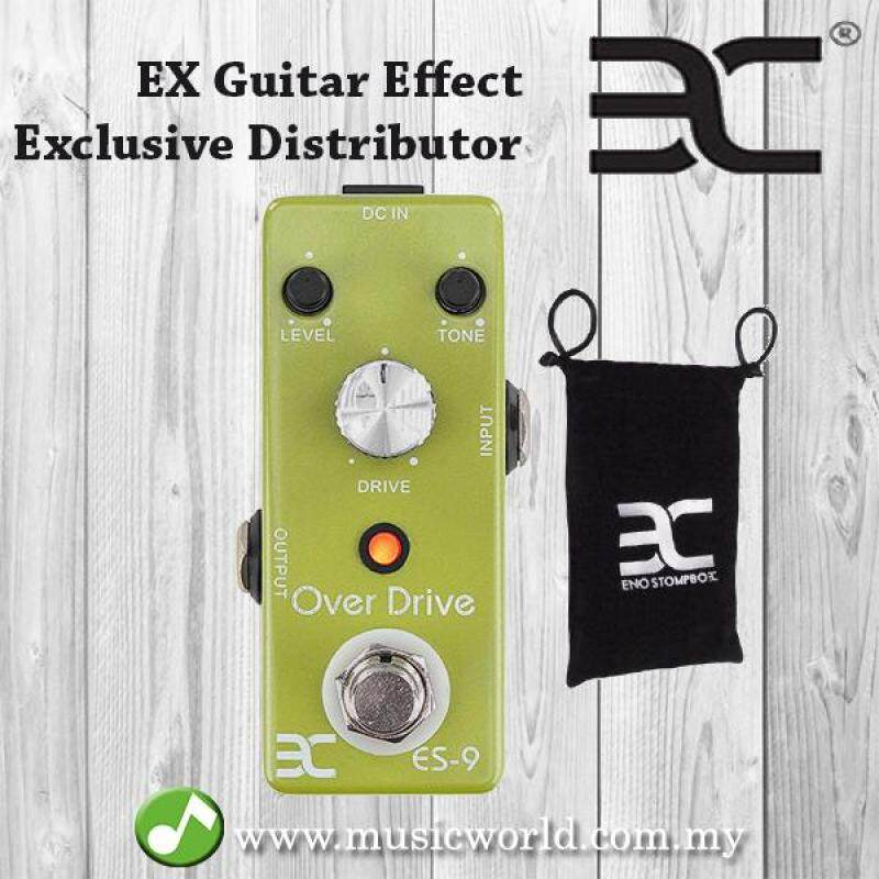 ENO EX TC-17 EX-9 Electric Guitar True bypass Tube Screamer Overdrive guitar effects pedal (TC17 / TC 17 / ES9 / ES-9) Malaysia