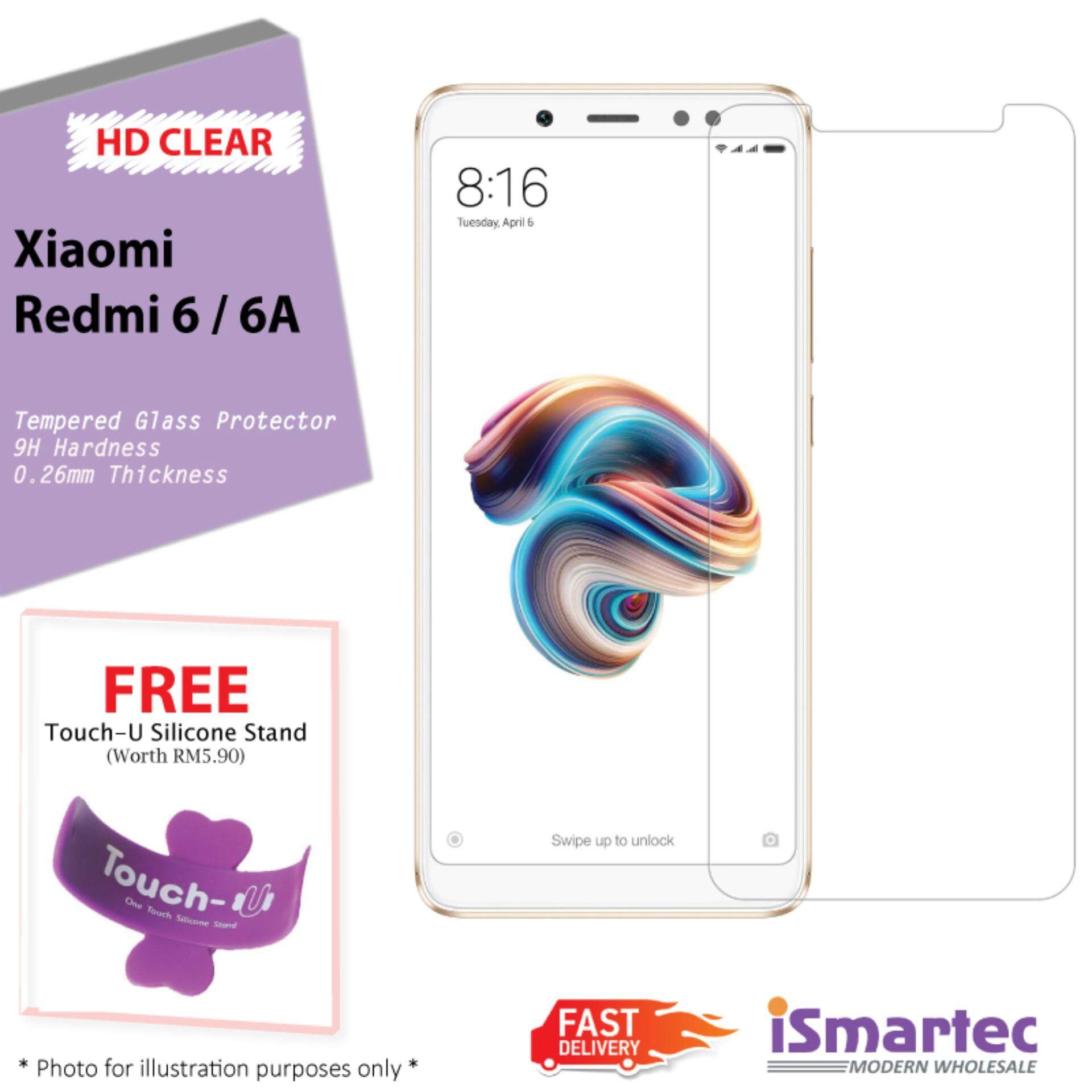 Xiaomi Screen Protectors For The Best Prices In Malaysia Tempered Glass Full Cover Mi5s White Hd Redmi 6 6a Free Touch U